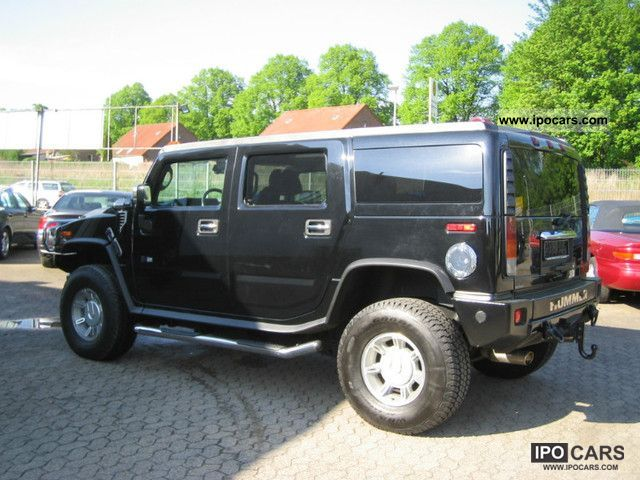 2004 hummer h2 leather features full lpg gas system off road vehicle