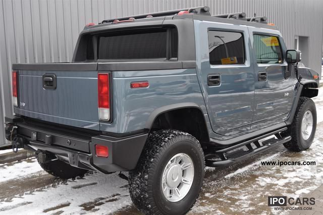 2006 Hummer H2 SUT 6.0 German approval - Car Photo and Specs