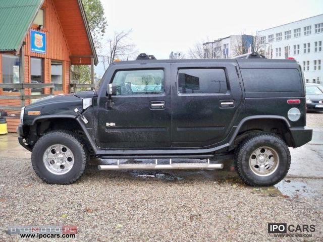 2003 Hummer H2-IGIEŁKA DVDx2-MACHINE-IDEAL - Car Photo and Specs
