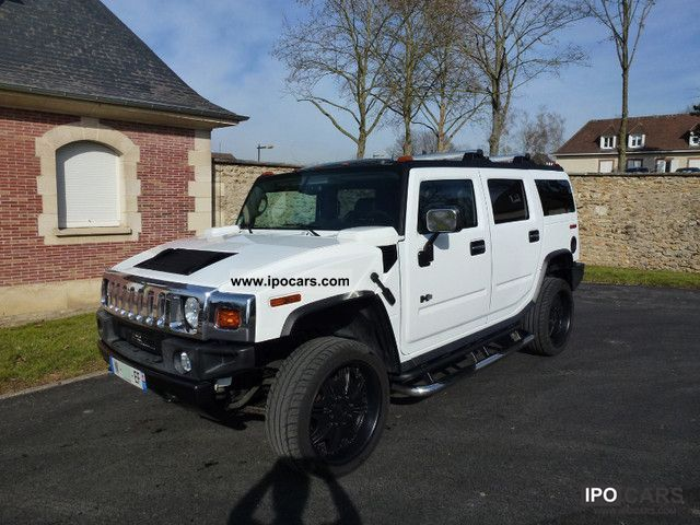 2005 Hummer  H2 GPS / / DVD / / PLAYSTATION / / JANTES 22 Off-road Vehicle/Pickup Truck Used vehicle photo