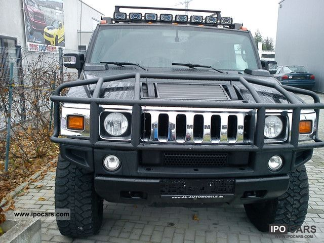 2006 Hummer  H2 leather schwarz/Glasdach/20 duty aluminum / 6 seater Off-road Vehicle/Pickup Truck Used vehicle photo