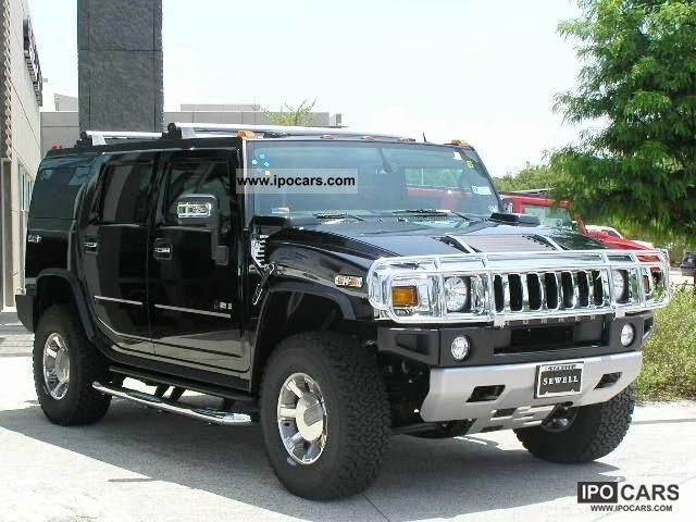 2008 Hummer  H 2 = 2008 = 22 CHROME WHEELS 6.2 V8 READY TO GO Off-road Vehicle/Pickup Truck Used vehicle 			(business photo
