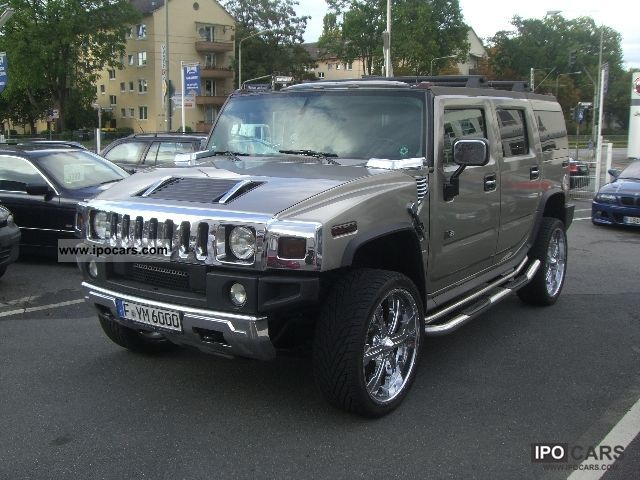 Hummer  H2 LUXURY * GEIGER * TUNING CARBON * LPG * 24 * CUSTOMS 2003 Liquefied Petroleum Gas Cars (LPG, GPL, propane) photo