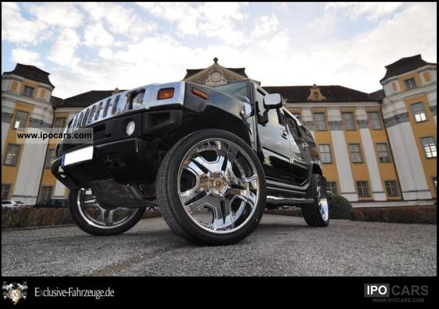 Hummer  H2 / 28 inch DUB rims / lpg / tuning 2005 Tuning Cars photo