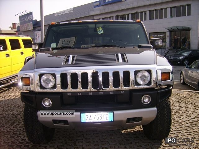 2008 Hummer  H2 6.2 V8 Luxury SUV aut UFFICIALE ITALIA!! Off-road Vehicle/Pickup Truck Used vehicle photo