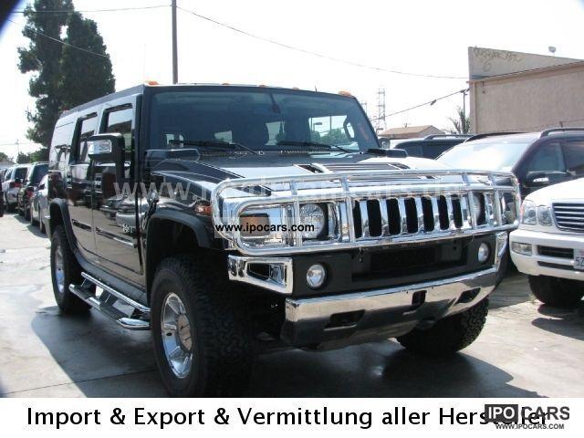 2008 Hummer  H2 6.2l V8 Luxury BRHV T1: 44.900,-USD Off-road Vehicle/Pickup Truck Used vehicle photo
