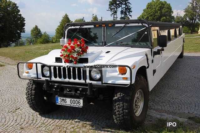 1997 Hummer  H1 stretch limo 10m - party, event, promotional Limousine Used vehicle photo