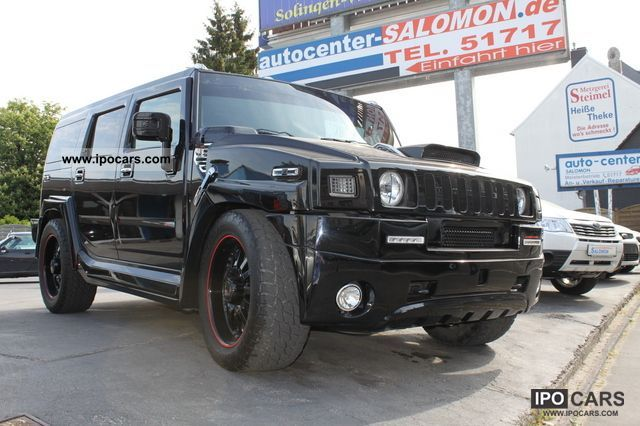 2006 Hummer  H2 Black Devil XXXL Komp.700PS LPG Nitro GT Off-road Vehicle/Pickup Truck Used vehicle photo