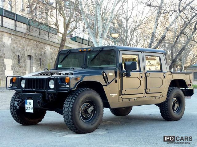 1997 Hummer H1 6 5 Hmc4 Car Photo And Specs