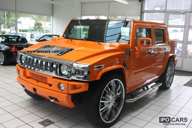 2005 Hummer  H 2 + * known * from PRO 7 * Multimedia * 28Zoll Picku Off-road Vehicle/Pickup Truck Used vehicle photo