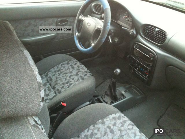 1997 Hyundai Accent 1 3i Gs Car Photo And Specs