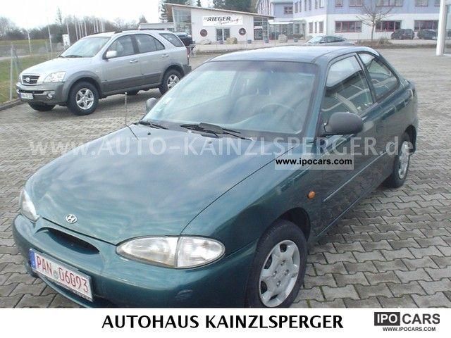 1999 Hyundai  Accent 1.3i GS Auto Limousine Used vehicle photo