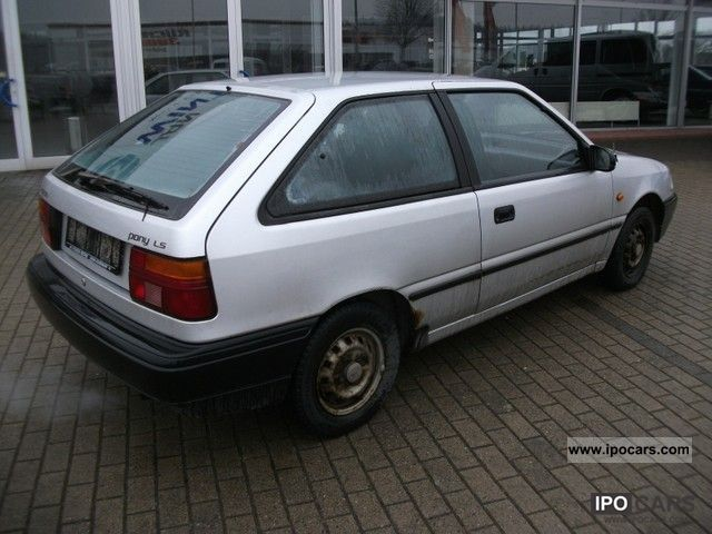 1995 hyundai pony 1 3 ls only 76000 km tuv 10 12 car photo and specs 1991 Volkswagen Polo 1985 Volkswagen Polo
