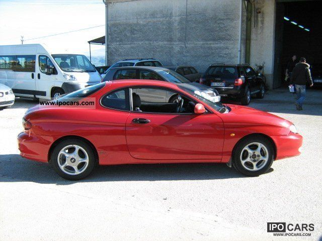 1997 hyundai coupe 1 6 fx car photo and specs. Black Bedroom Furniture Sets. Home Design Ideas