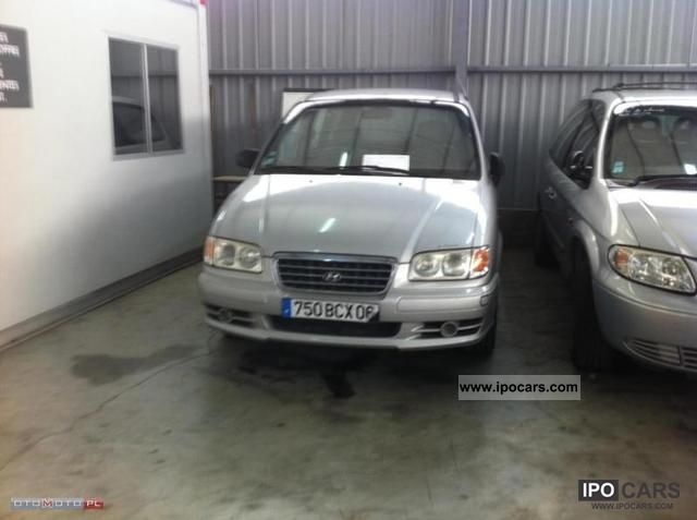 2004 Hyundai  Trajet 2.0 CRDI AIR 7 osób Van / Minibus Used vehicle photo