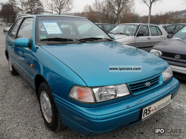 1993 Hyundai  Pony 1.5i GS * WINTER TIRES SERVO * + + TÜV 01/13 Small Car Used vehicle photo