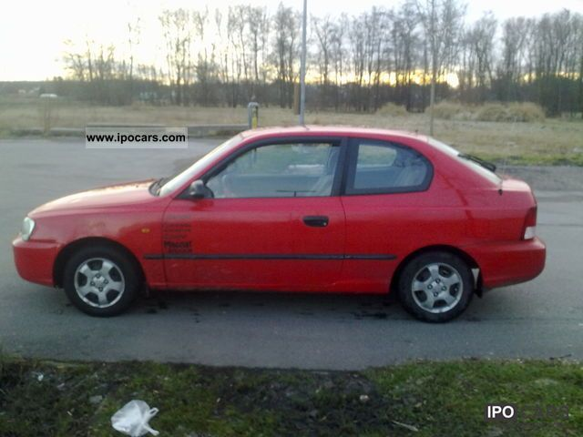 2000 Hyundai Accent 1 3i Lc Car Photo And Specs