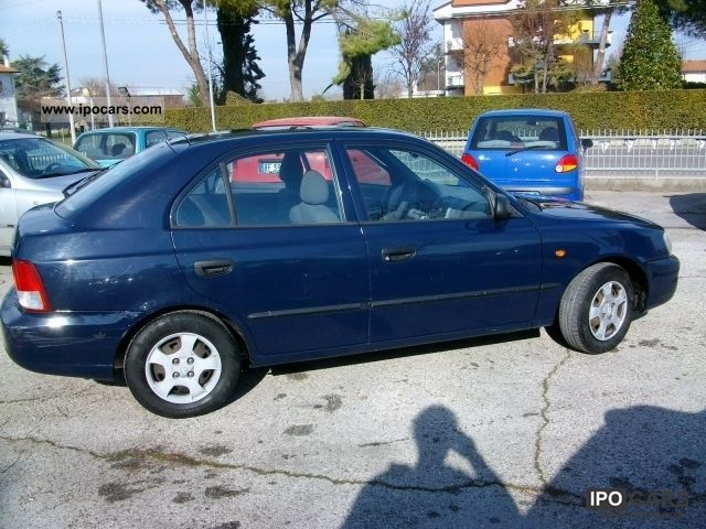 2002 hyundai accent porte clima 1400 5 car photo and specs ipocars com