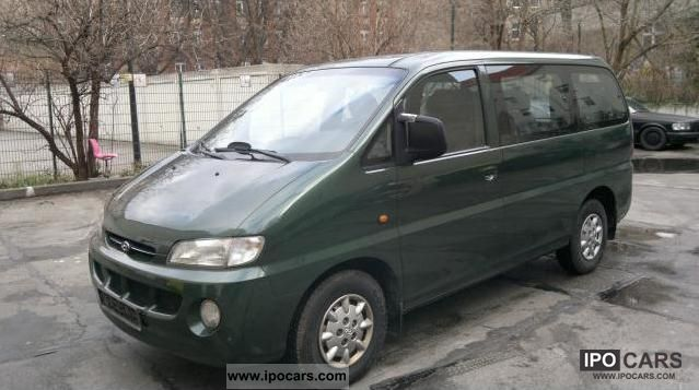 1998 Hyundai  H-1 Starex 2.4i LPG Autogas Van / Minibus Used vehicle photo