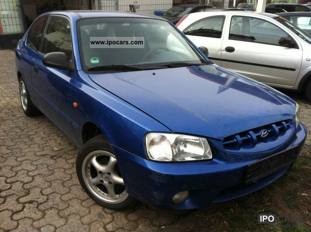 2001 Hyundai Accent 1 3i Gs Car Photo And Specs