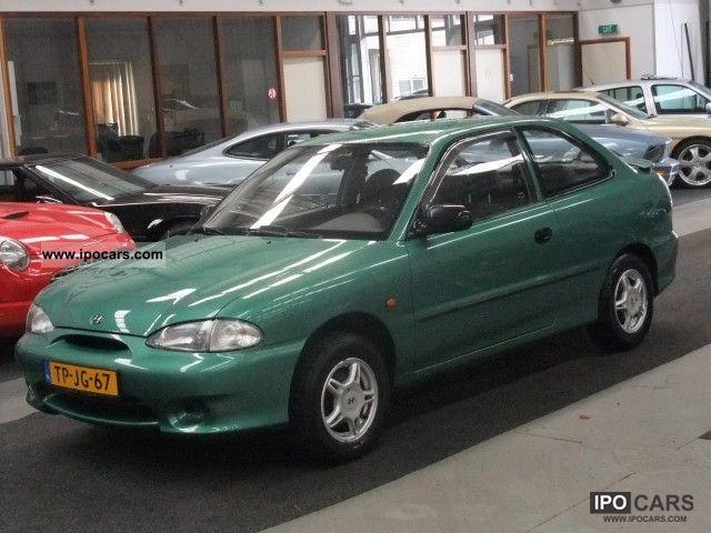 1998 Hyundai  Excel 1.3 Power steering Trekhaak Small Car Used vehicle photo