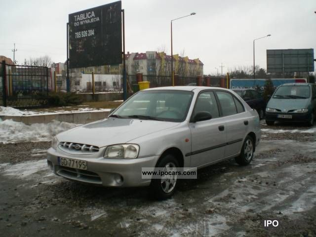 Hyundai  Accent Z GAZEM SEKWENCYJNYM I Air 2000 Liquefied Petroleum Gas Cars (LPG, GPL, propane) photo