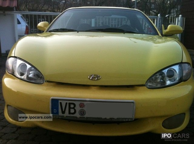 Hyundai  Coupe 2.0 - TUNING - 1.5 years TÜV 1997 Tuning Cars photo