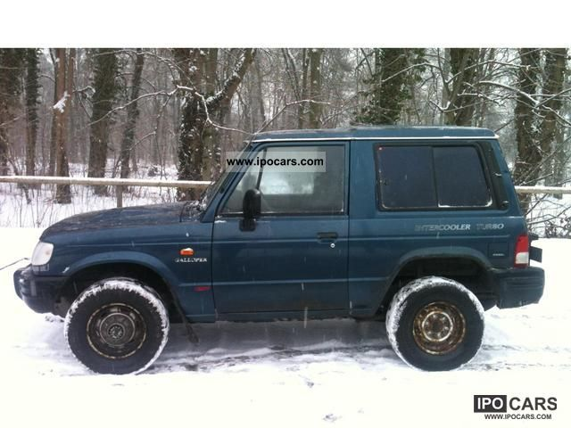 1999 Hyundai  2.5 TD 4x4 WHEEL 1.HAND APC 5-SEATER SERVO Off-road Vehicle/Pickup Truck Used vehicle photo