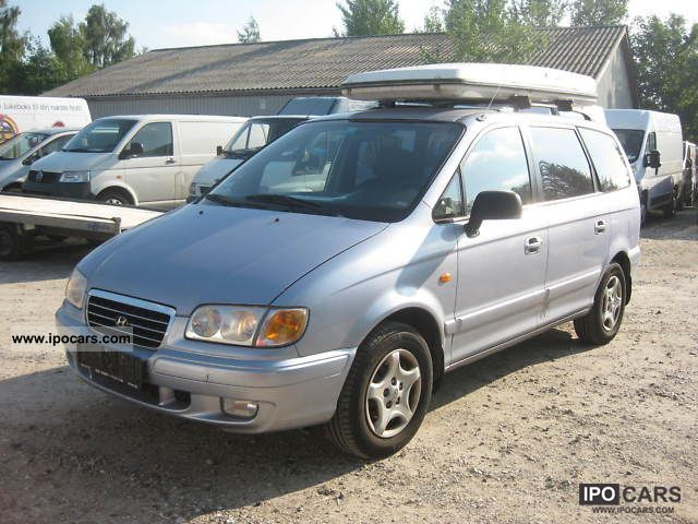 2000 Hyundai  Trajet 2.0 GLS Van / Minibus Used vehicle photo