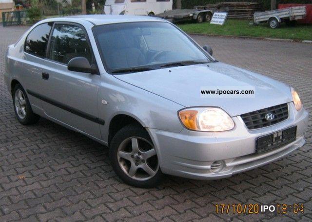 2003 Hyundai  Accent 1.3i GS Limousine Used vehicle photo