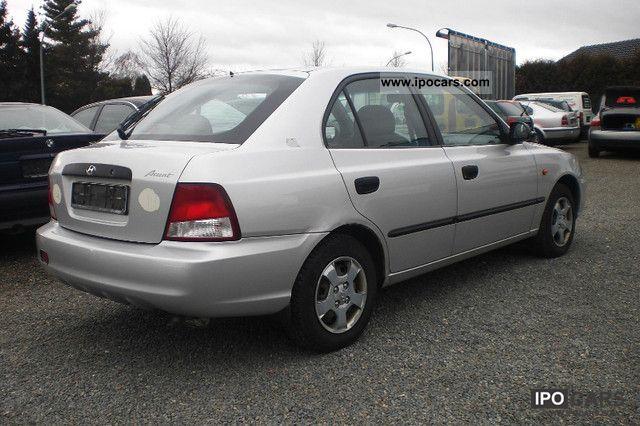 Hyundai Accent Mpg >> 2001 Hyundai Accent 1.3i GLS EURO 3 - Car Photo and Specs