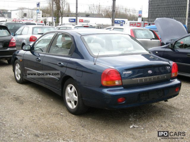 2000 Hyundai Sonata 2 5i Gls V6 Automatic Air Car Photo And Specs