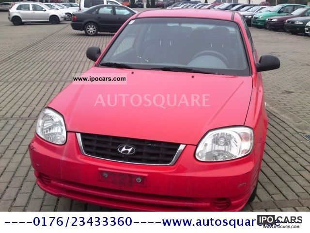 2004 Hyundai  Accent 1.3i GLS - 76.000 km - EURO 4 - Limousine Used vehicle photo