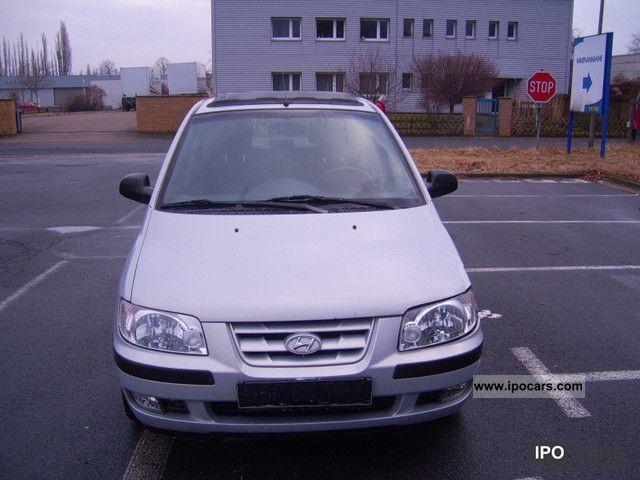 2003 Hyundai  Matrix 1.6 Ragtop Van / Minibus Used vehicle photo