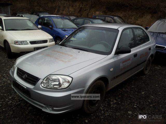 2004 Hyundai  Accent 1.3i GLS AIR, MOT 12.2013 Limousine Used vehicle photo