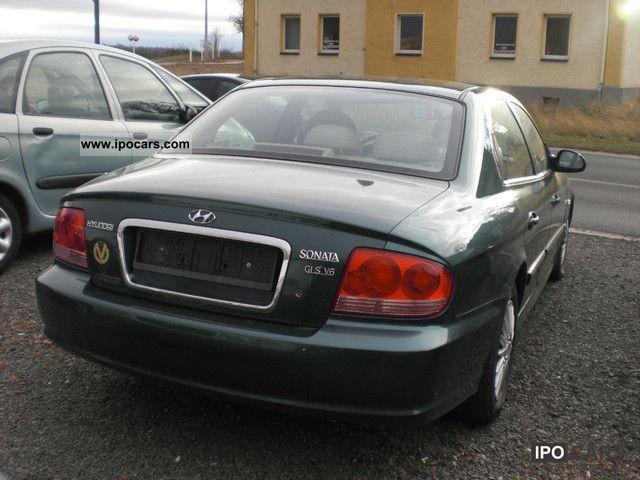 2002 hyundai sonata 2 7 v6 gls car photo and specs ipocars com