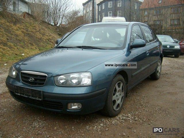 2001 Hyundai Elantra 1 6i Gls 2 Manual Climate And Euro 3
