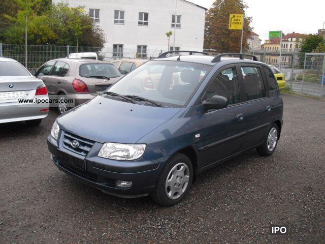2001 Hyundai  Matrix 1.8 GLS climate checkbook Euro4 top condition Van / Minibus Used vehicle photo
