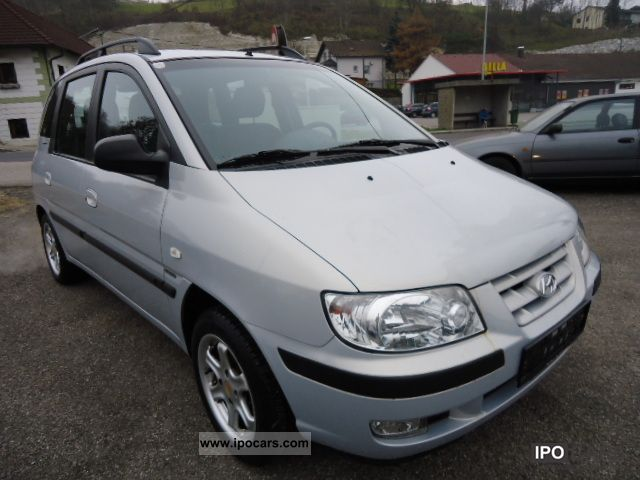2002 Hyundai  Matrix 1.6 elegance, euro3, carbon, aluminum Van / Minibus Used vehicle photo