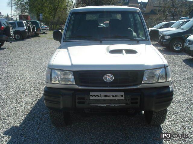 1999 Hyundai  HDPIC Galloper 2.5 TD / 2.Hand Off-road Vehicle/Pickup Truck Used vehicle (business photo