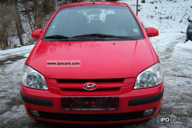 2002 Hyundai  Getz 1.3 5-door air-€ 4 Small Car Used vehicle photo