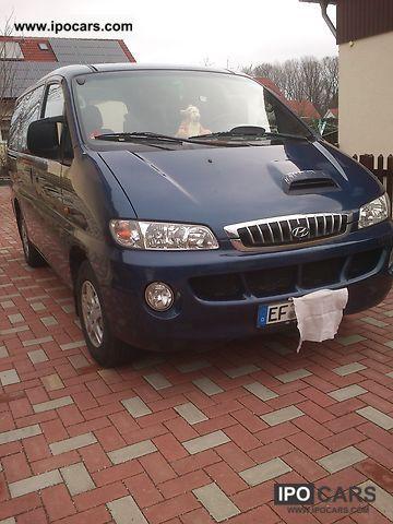 2001 Hyundai  H-1 Starex 2.5 TD Van / Minibus Used vehicle photo