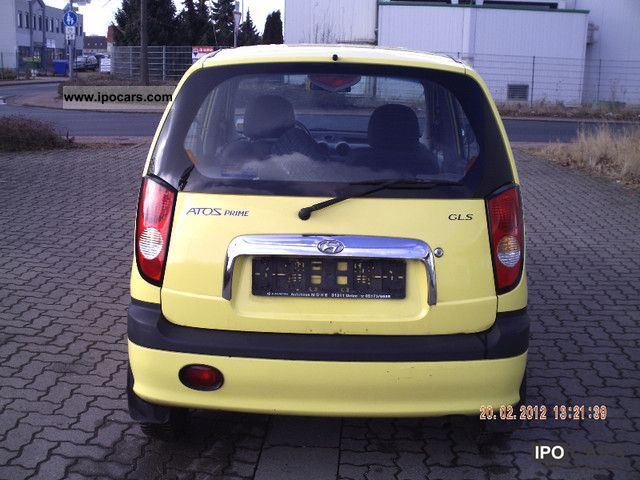 2002 Hyundai Atos Car Photo And Specs