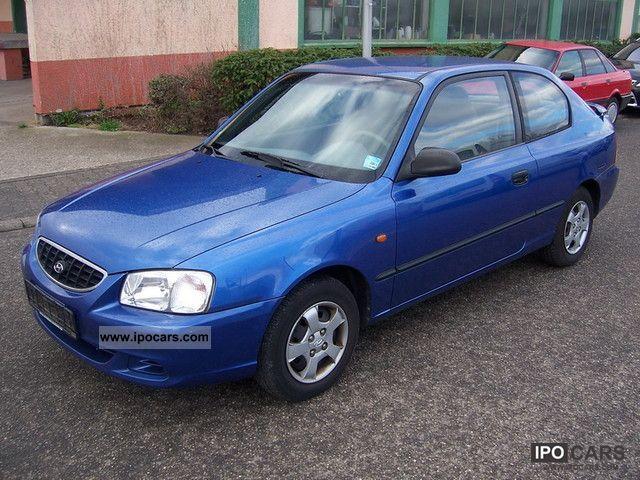 2002 Hyundai  Accent 1.3i servo Euro3 approval before 05/2013 Limousine Used vehicle photo