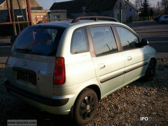 2002 Hyundai  Matrix ekonomiczny AIR TUV Van / Minibus Used vehicle photo