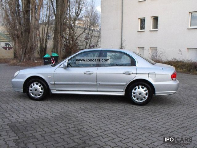 2004 Hyundai Sonata 2 7 V6 Gls Car Photo And Specs