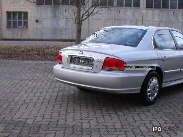 2004 Hyundai Sonata 2 7 V6 Gls Car Photo And Specs