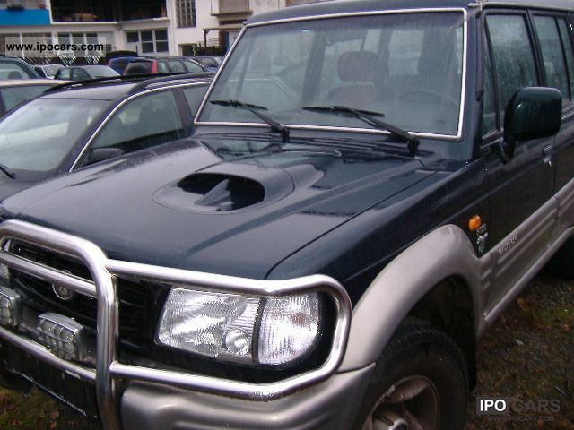 1999 Hyundai  Galloper Off-road Vehicle/Pickup Truck Used vehicle photo