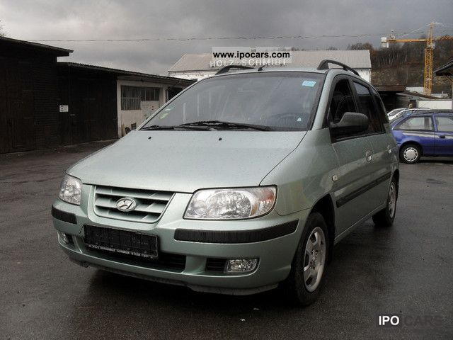 2002 Hyundai  Matrix 1.6 GLS climate Hu € 4 to 06/2013 Van / Minibus Used vehicle photo