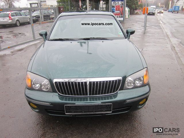 2002 Hyundai  XG 30 3.0 V6 Navi Decada / leather Limousine Used vehicle photo